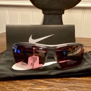 NWT-Authentic Nike Wrap Sport Sunglasses. 65 mm.
